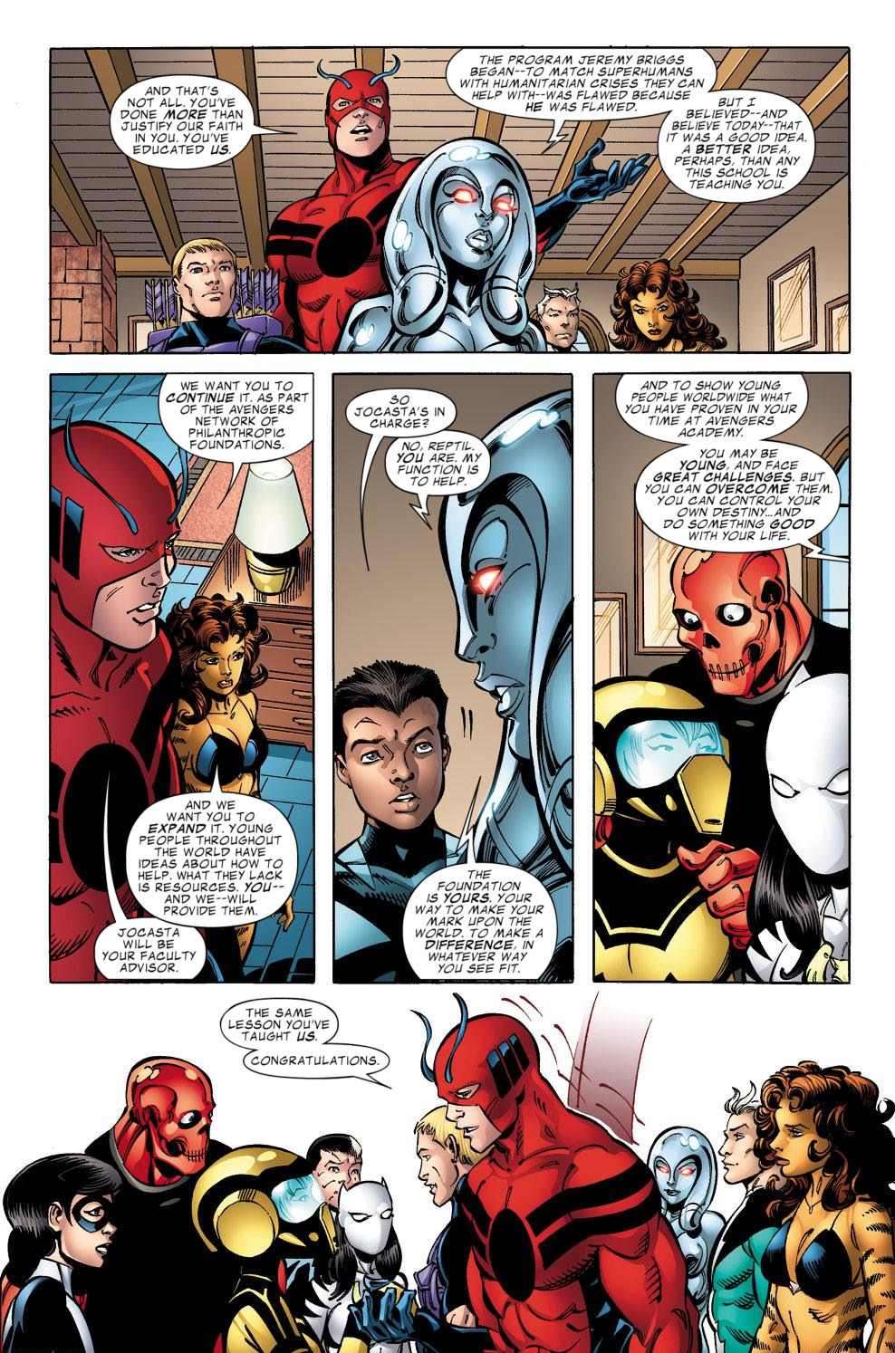 Avengers Academy Issue #39 #40 - English 18