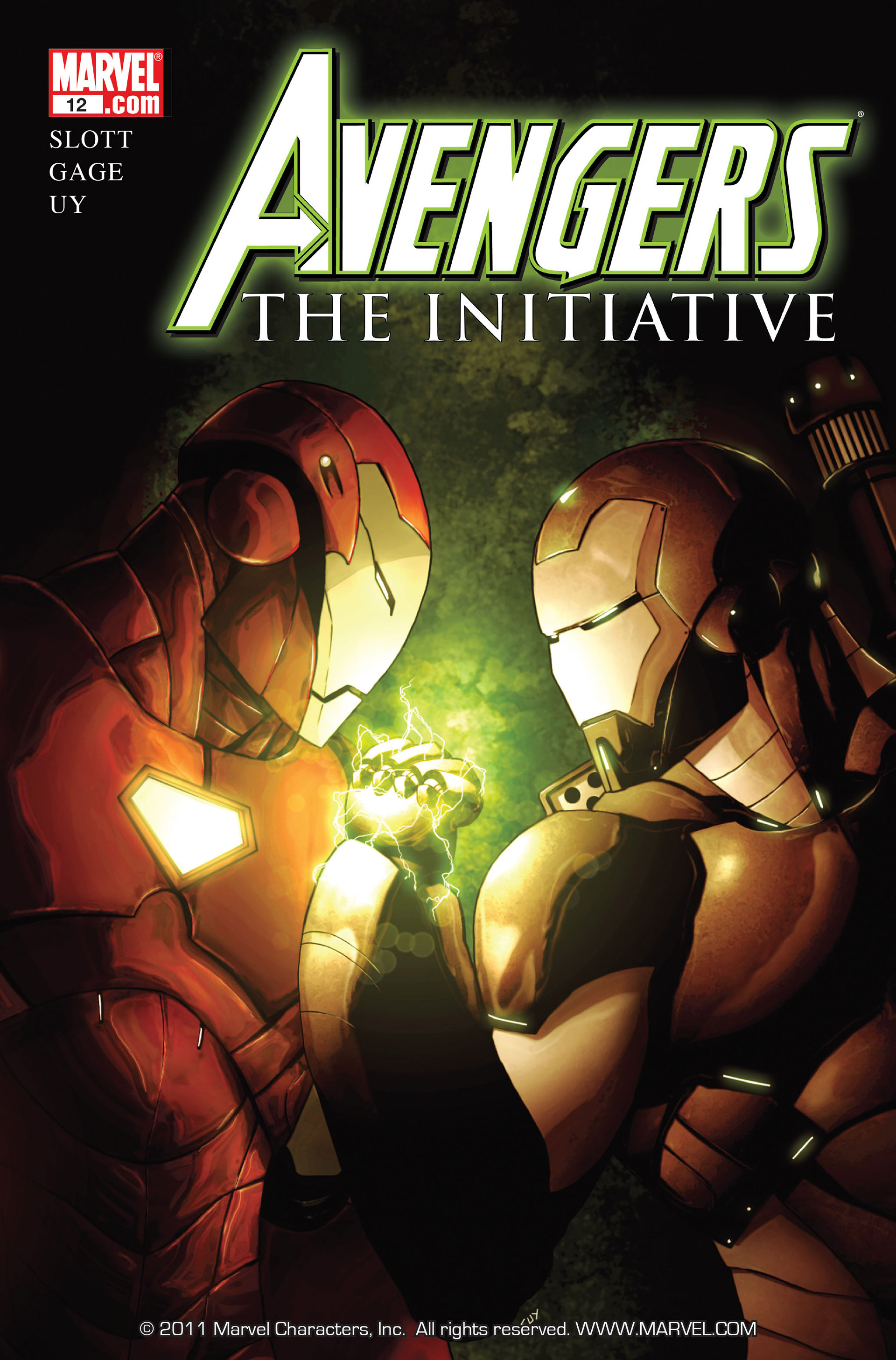 Avengers: The Initiative 12 Page 1