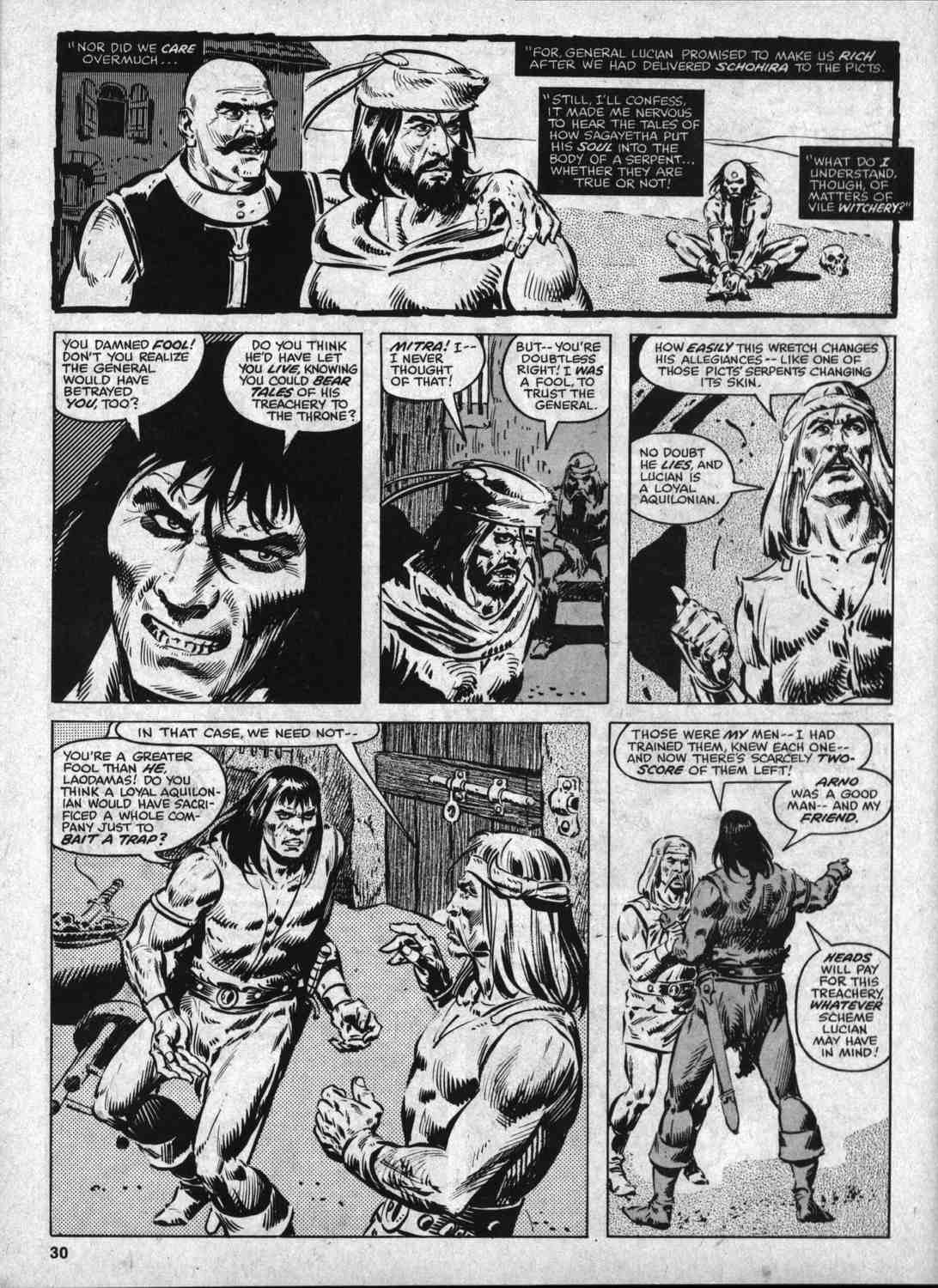 The Savage Sword Of Conan Issue #46 #47 - English 29