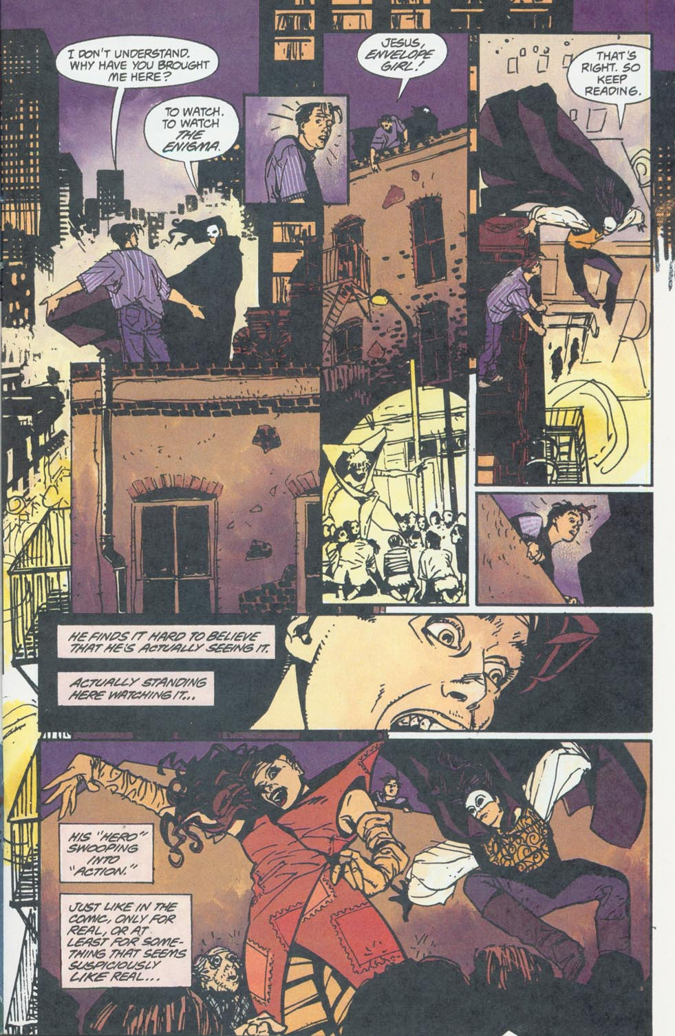 Read online Enigma comic -  Issue #6 - 12