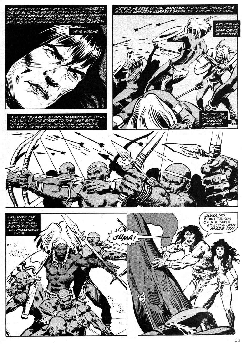 The Savage Sword Of Conan Issue #42 #43 - English 33