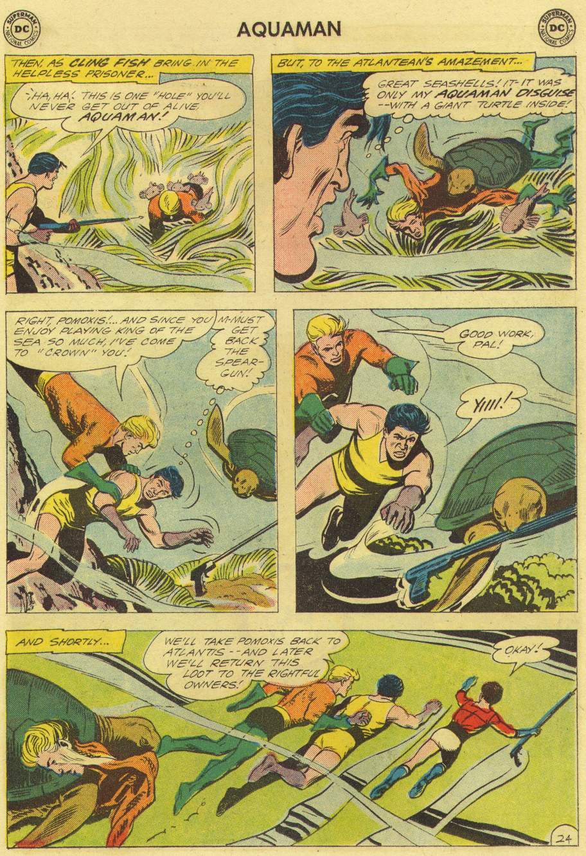 Aquaman (1962) Issue #3 #3 - English 31