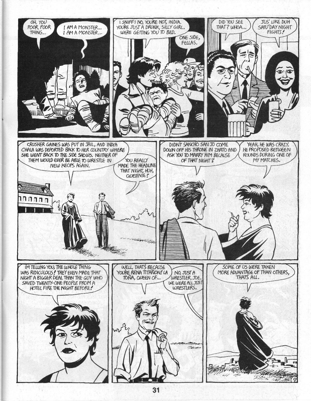 Love and Rockets (1982) Issue #14 #13 - English 33