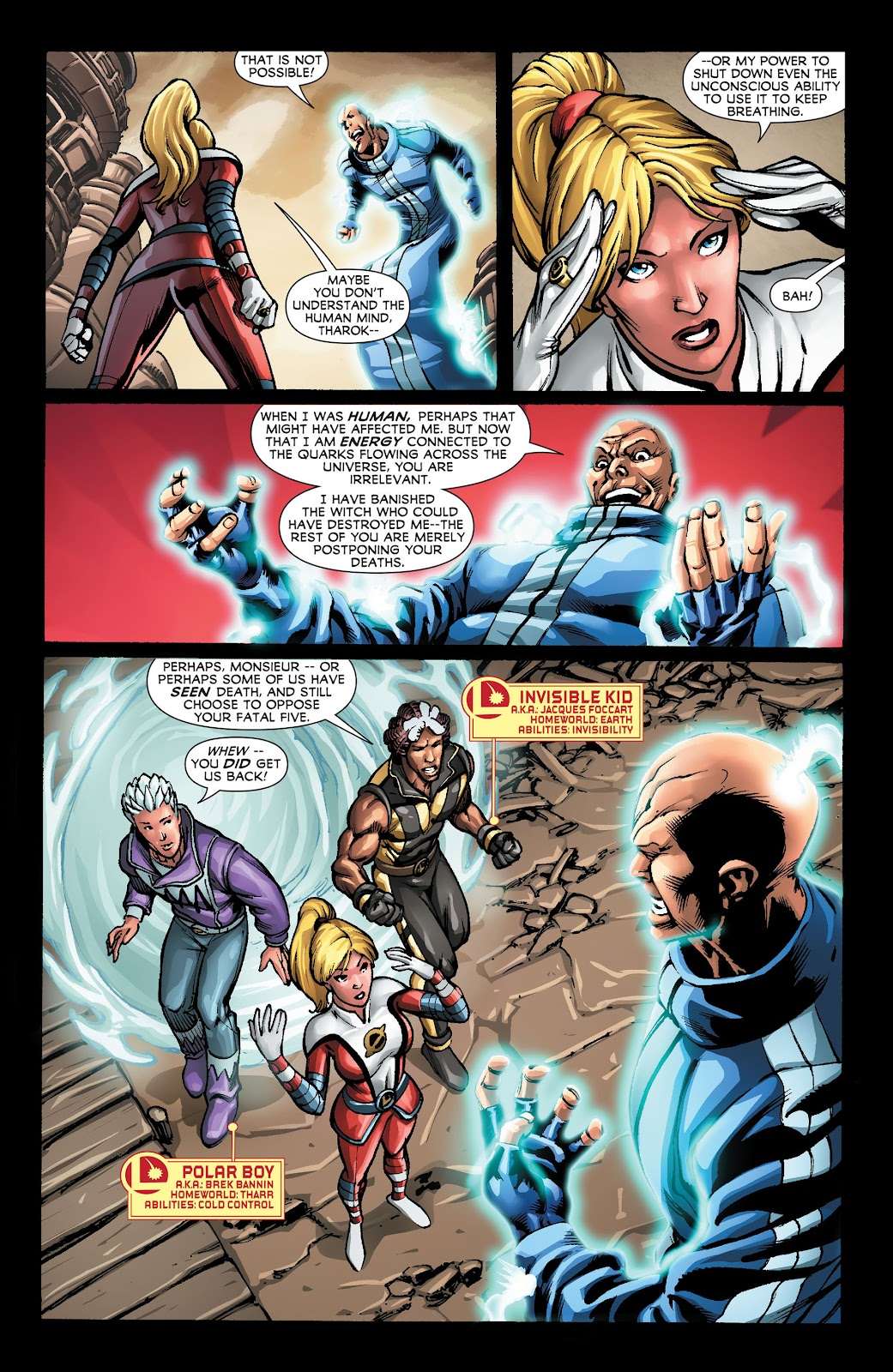 Legion of Super-Heroes (2011) Issue #22 #23 - English 13