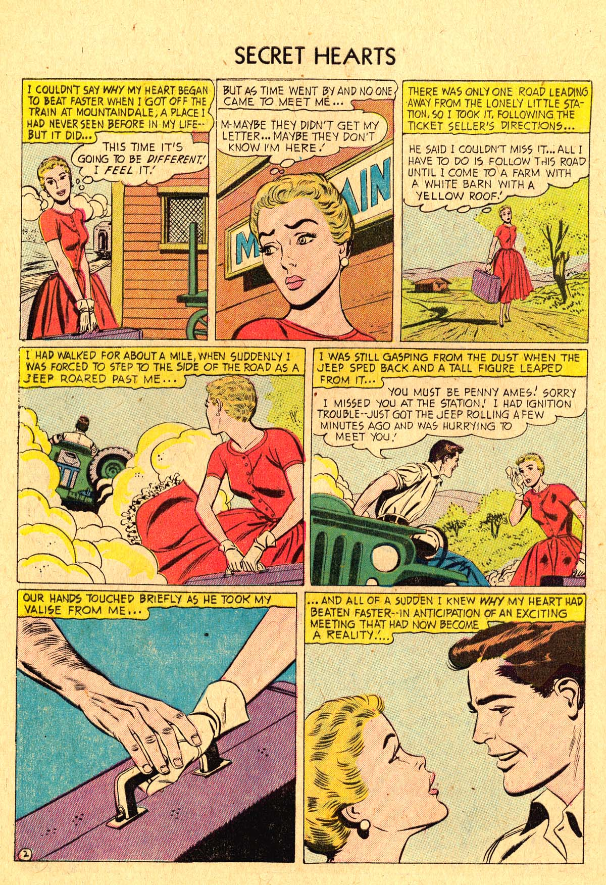 Read online Secret Hearts comic -  Issue #36 - 28