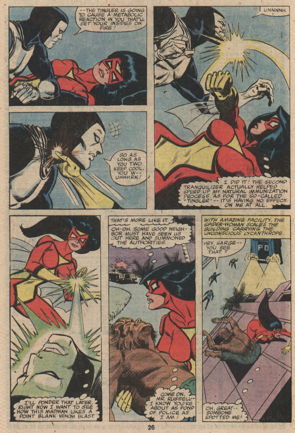 Spider-Woman (1978) #19 #32 - English 16
