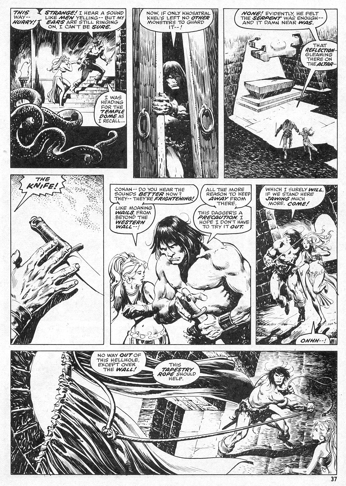 The Savage Sword Of Conan Issue #15 #16 - English 37