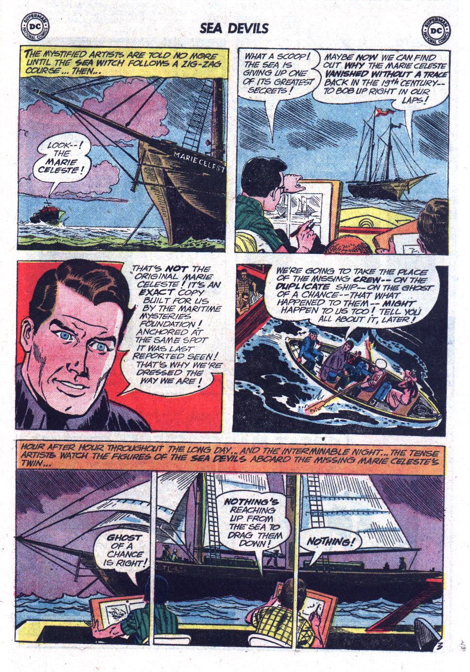 Read online Sea Devils comic -  Issue #13 - 25