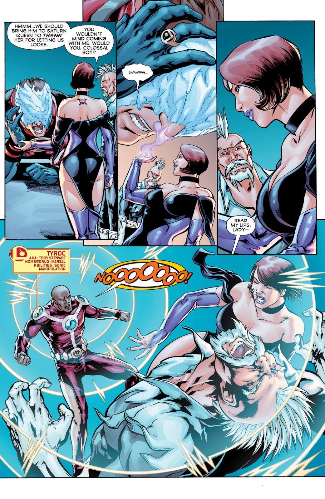 Legion of Super-Heroes (2010) Issue #11 #12 - English 5