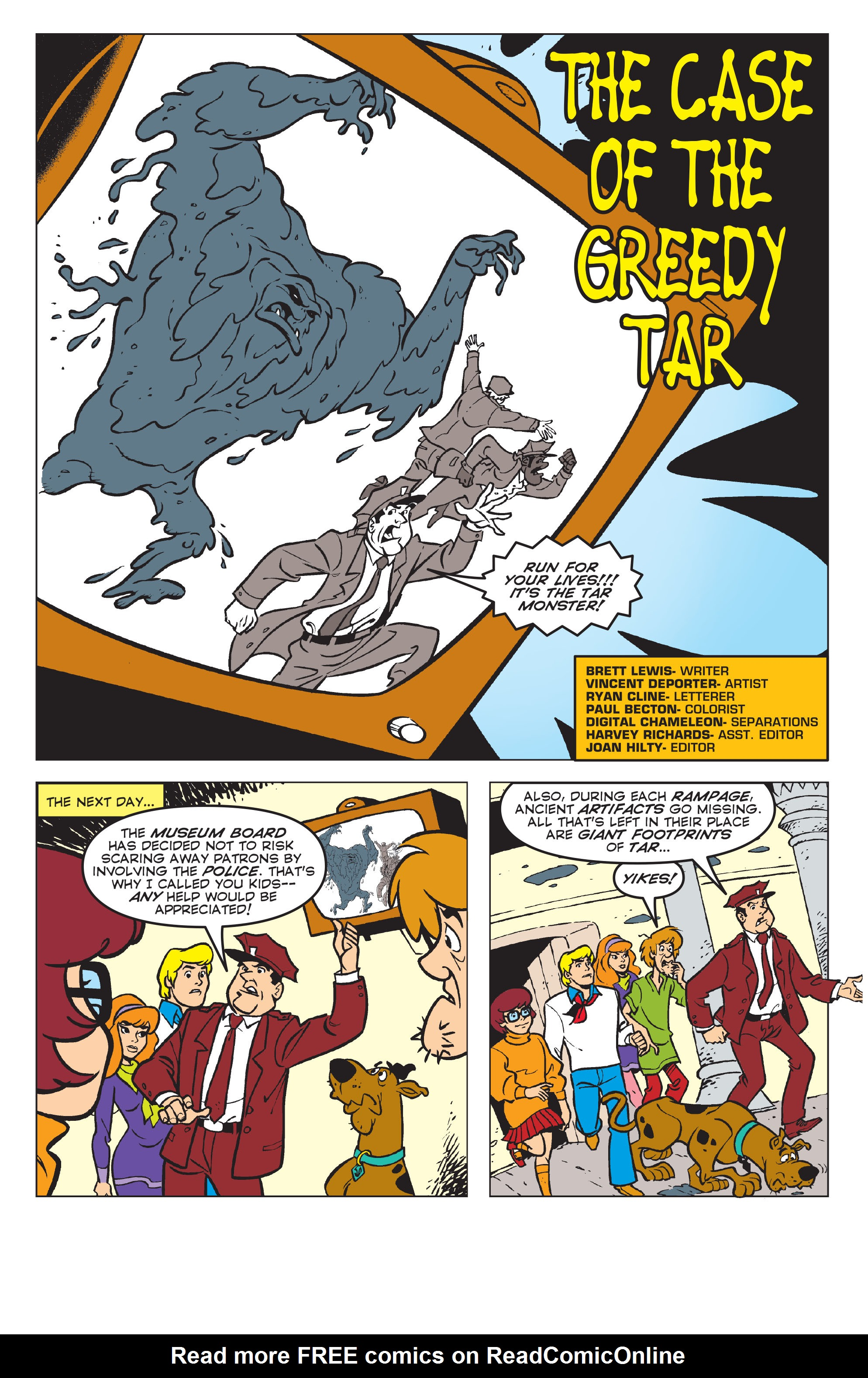 Read online Scooby-Doo: Where Are You? comic -  Issue #58 - 12