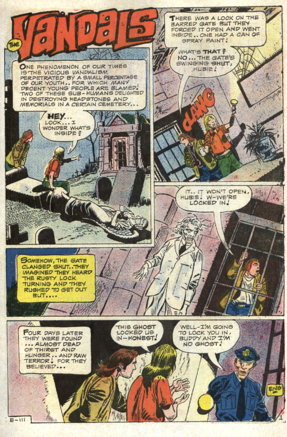 Read online Scary Tales comic -  Issue #12 - 31