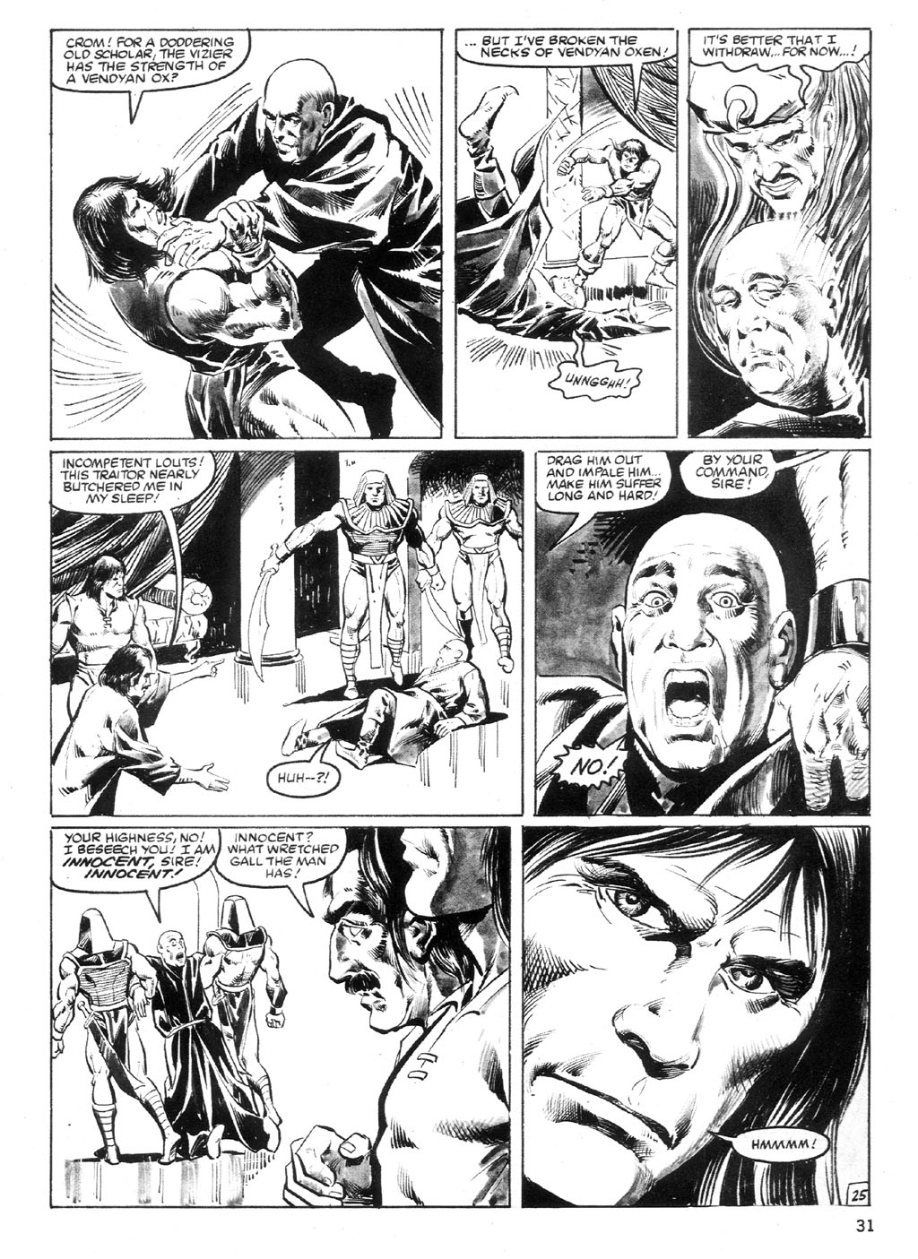 The Savage Sword Of Conan Issue #94 #95 - English 30