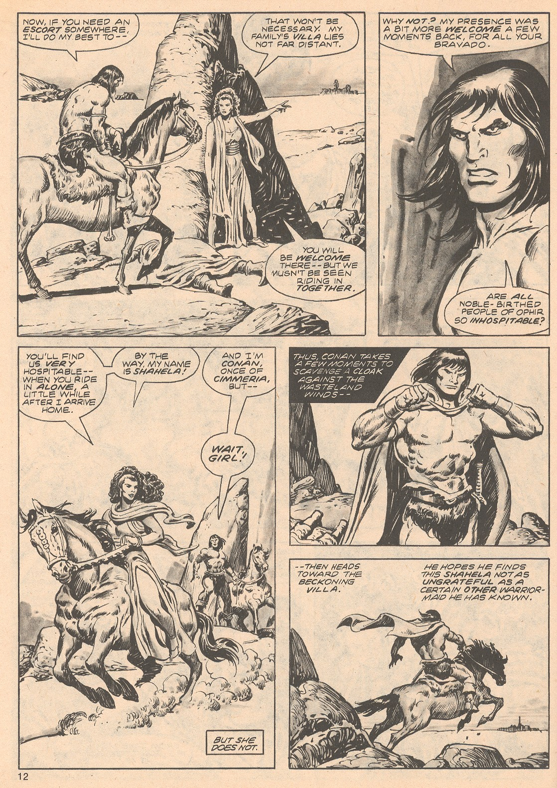 The Savage Sword Of Conan Issue #68 #69 - English 12