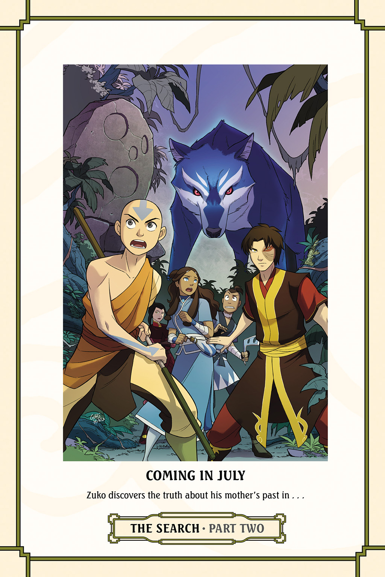 Read online Nickelodeon Avatar: The Last Airbender - The Search comic -  Issue # Part 1 - 78