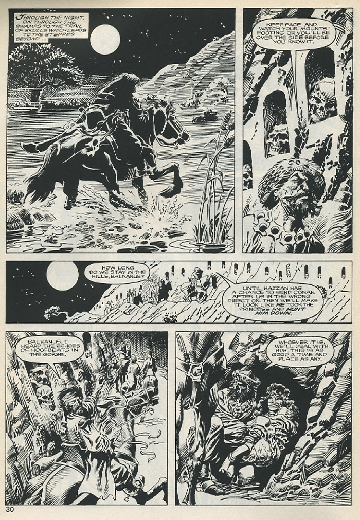 The Savage Sword Of Conan Issue #131 #132 - English 30