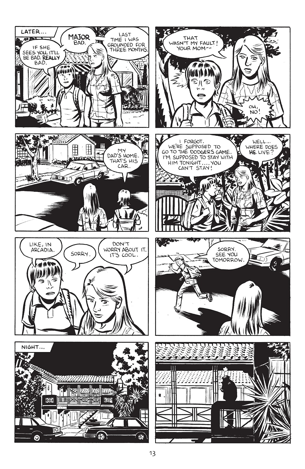 Stray Bullets Issue #25 #25 - English 15
