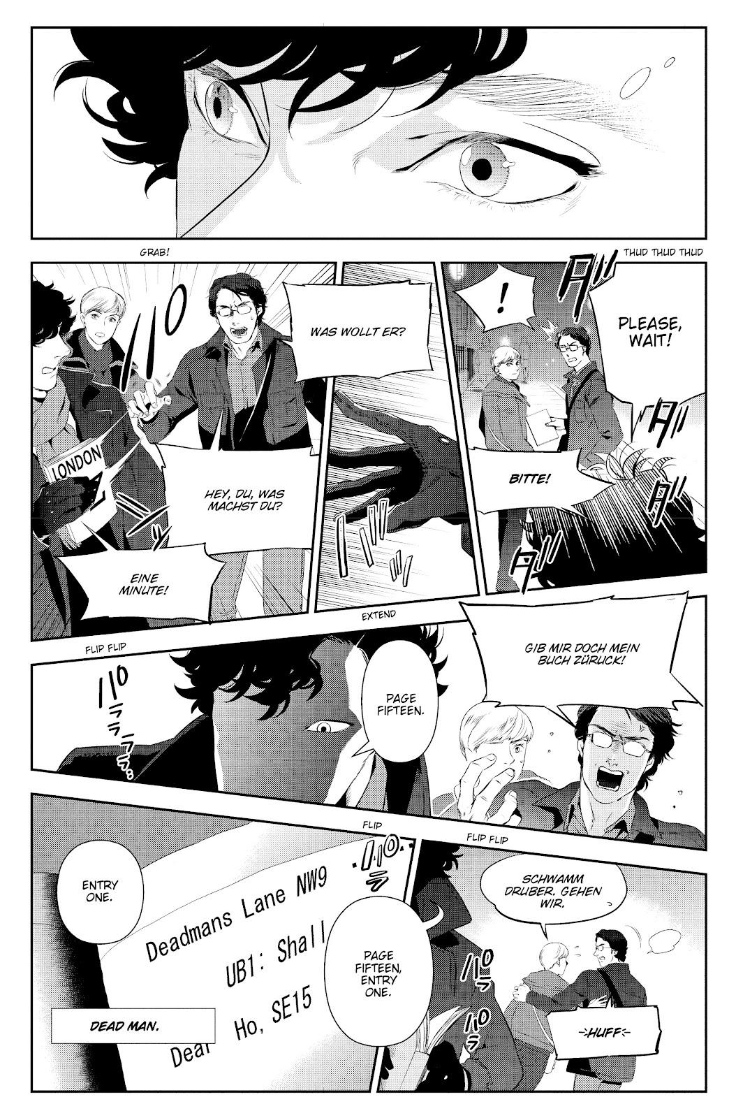 Sherlock: The Blind Banker Issue #5 #5 - English 35