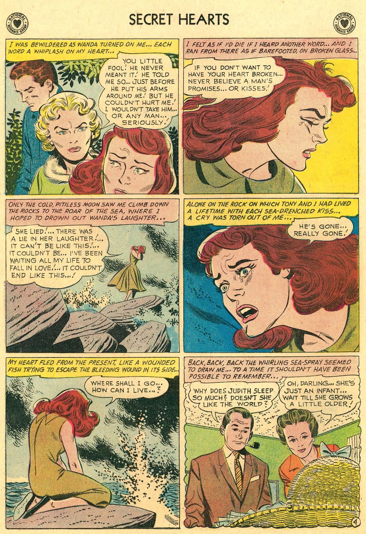 Read online Secret Hearts comic -  Issue #69 - 30