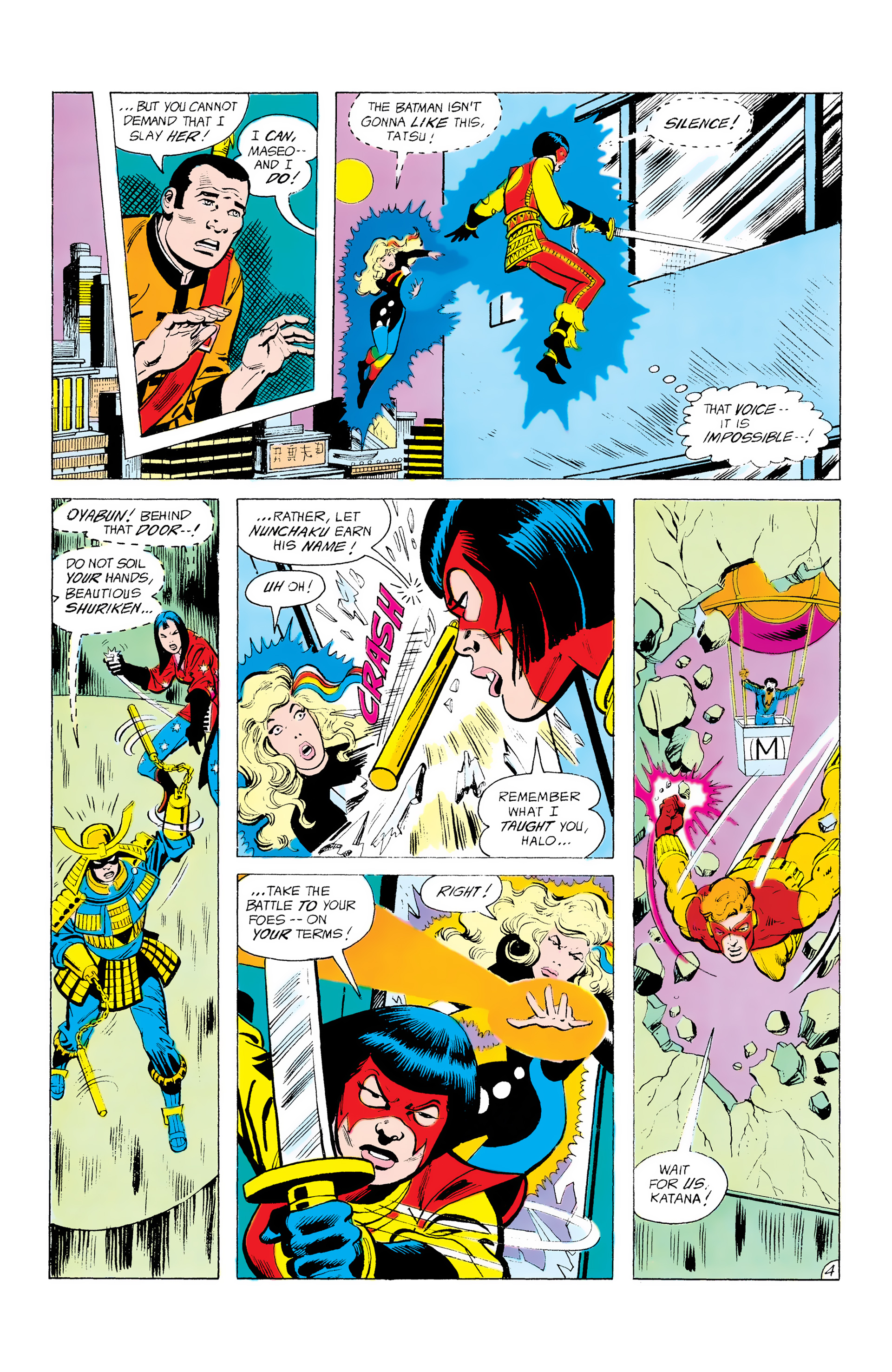 Batman and the Outsiders (1983) 12 Page 4