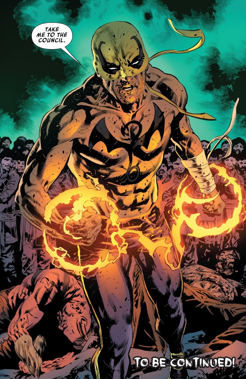 Iron Fist (2017) Issue #4 #4 - English 22