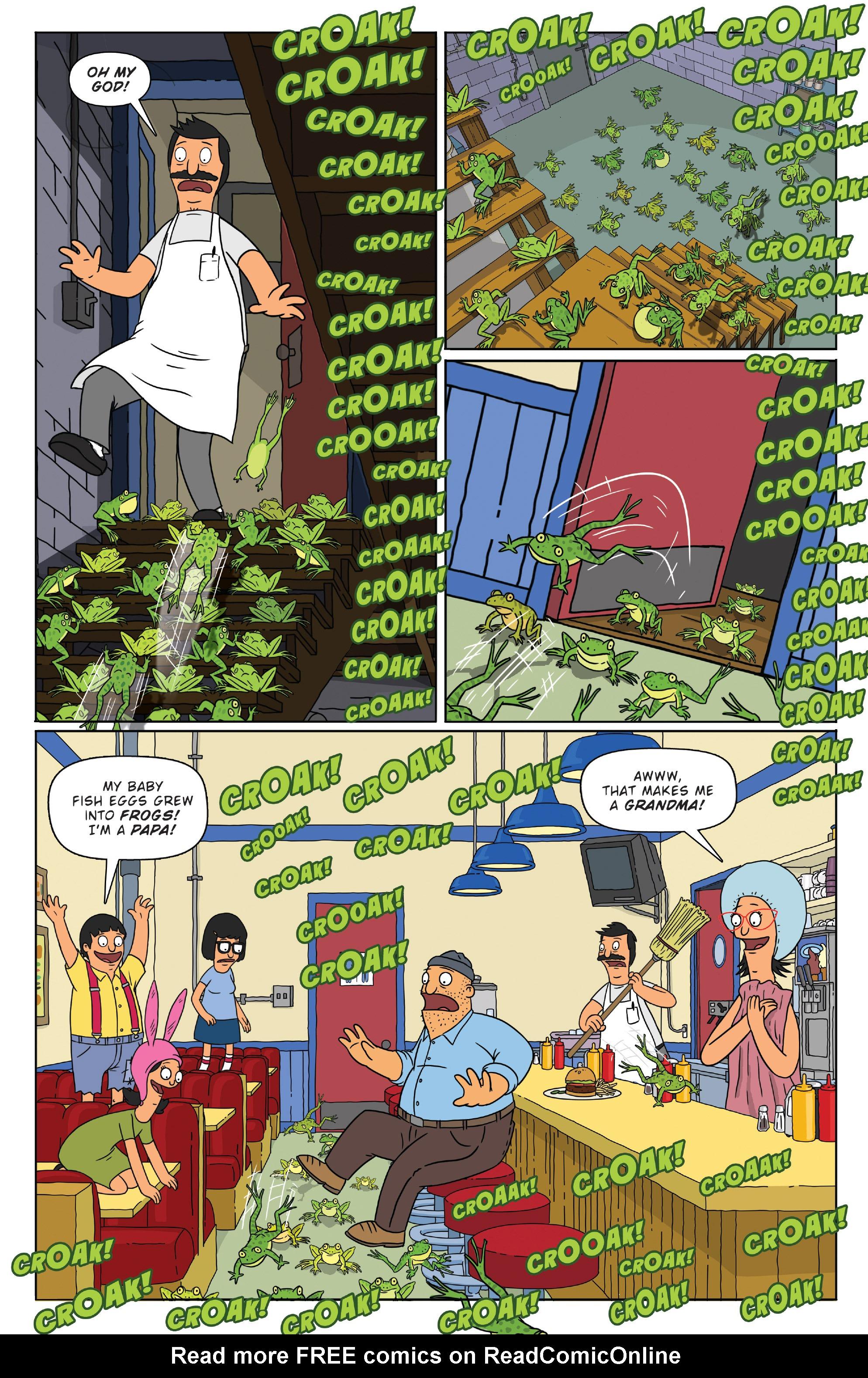 Read online Bob's Burgers (2014) comic -  Issue #3 - 21