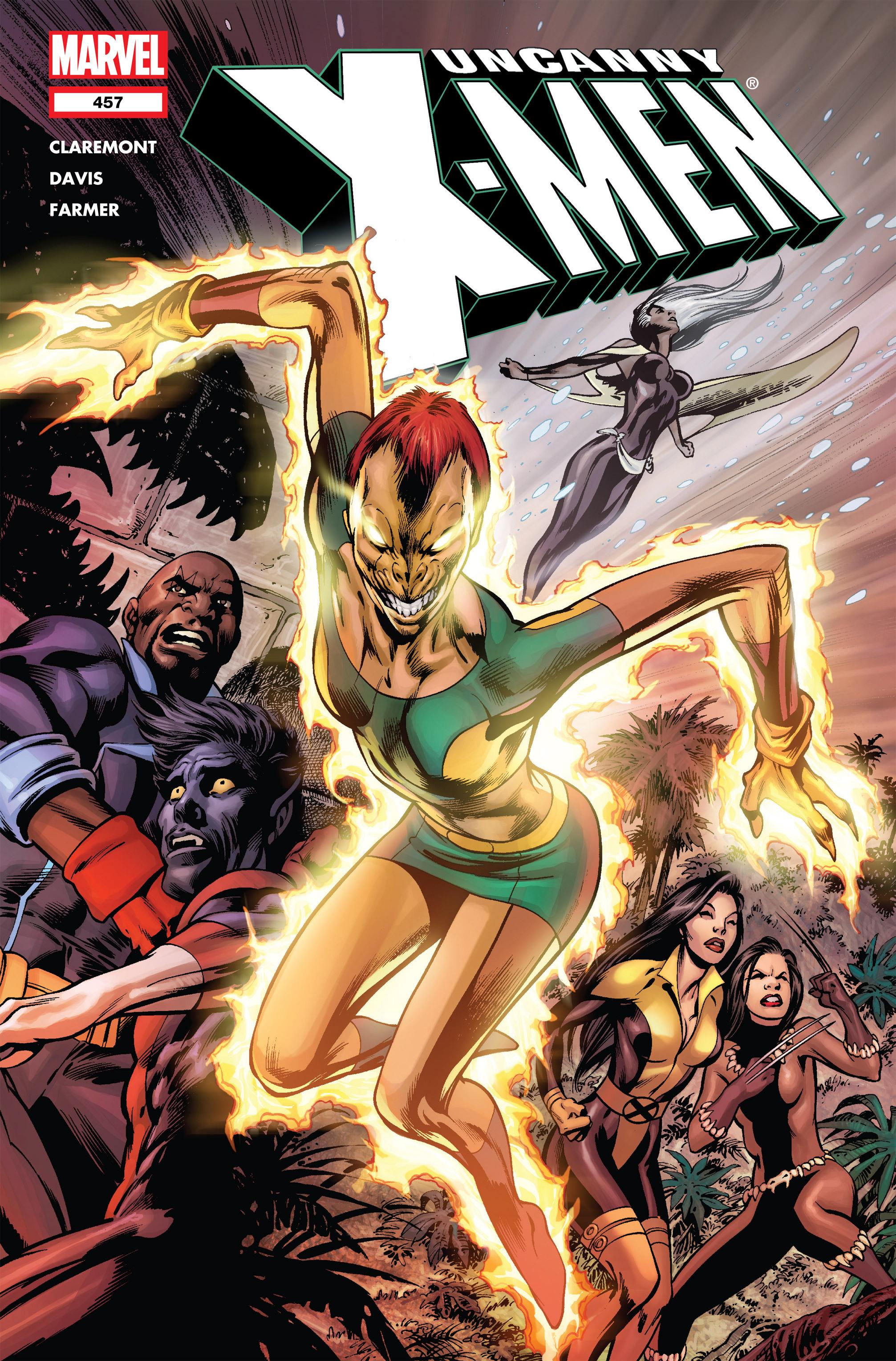 Uncanny X-Men (1963) 457 Page 1