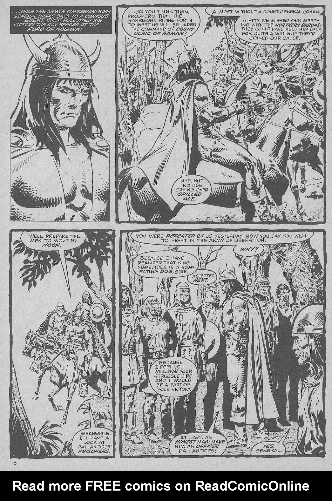 The Savage Sword Of Conan Issue #51 #52 - English 6