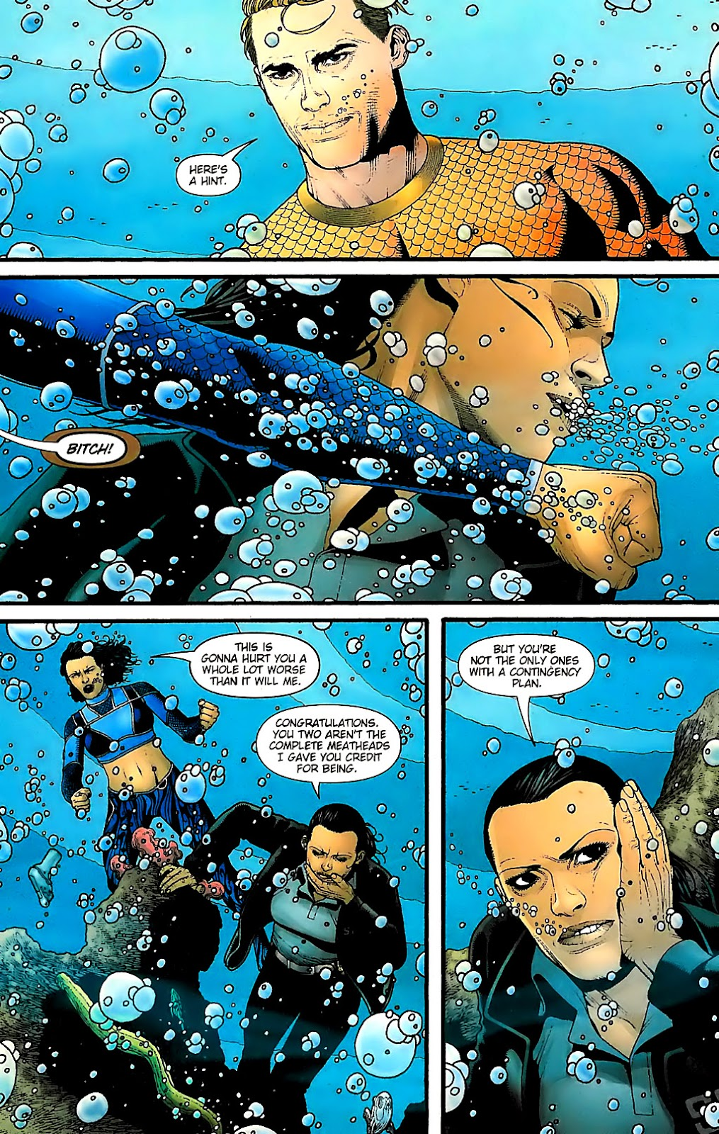 Aquaman (2003) Issue #31 #31 - English 16