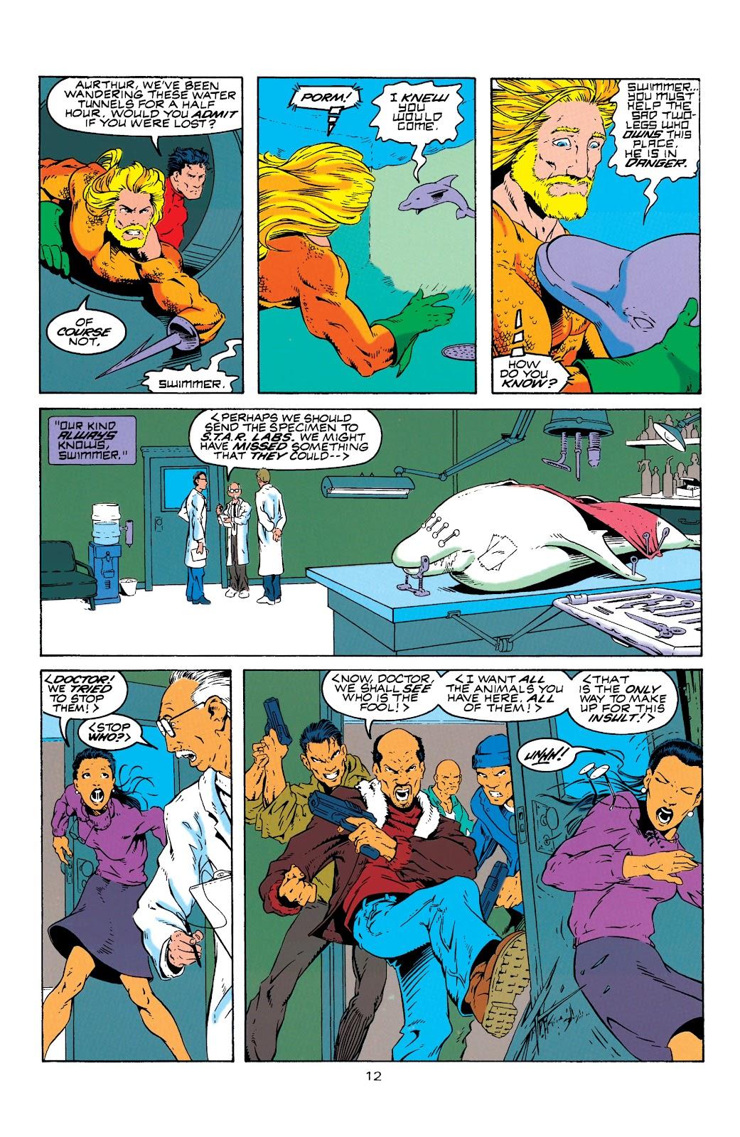 Aquaman (1994) Issue #4 #10 - English 13