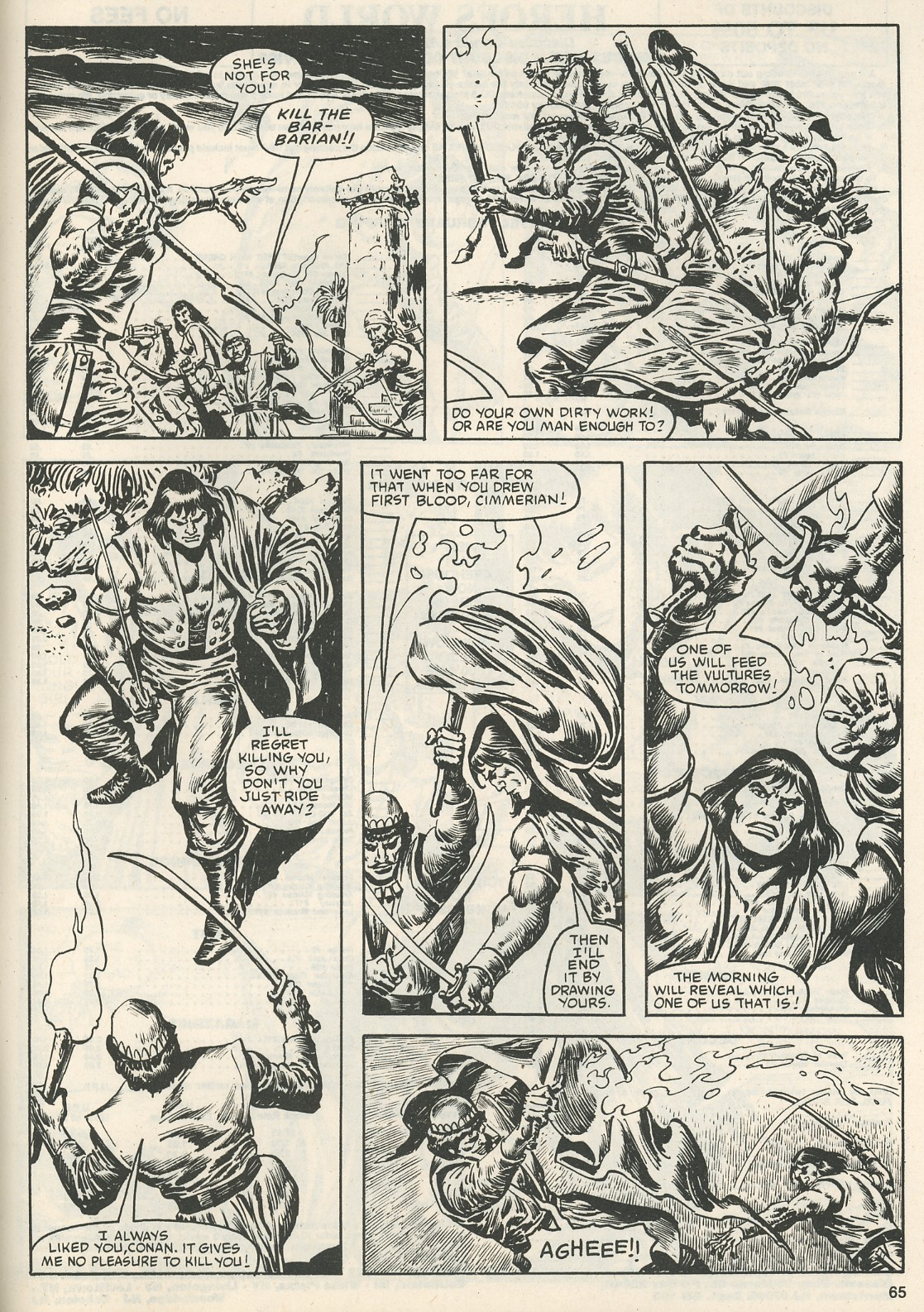 The Savage Sword Of Conan Issue #111 #112 - English 68