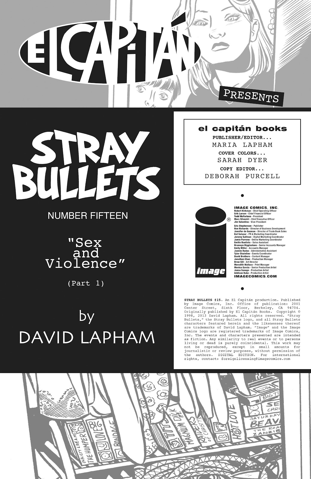 Stray Bullets Issue #15 #15 - English 2