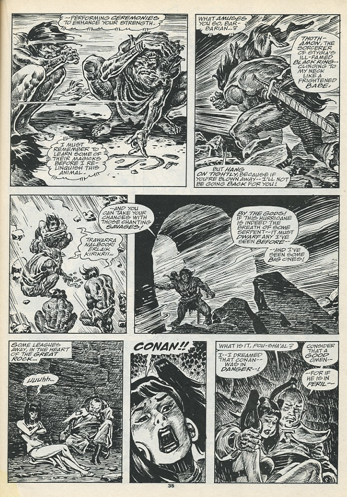 The Savage Sword Of Conan Issue #193 #194 - English 37