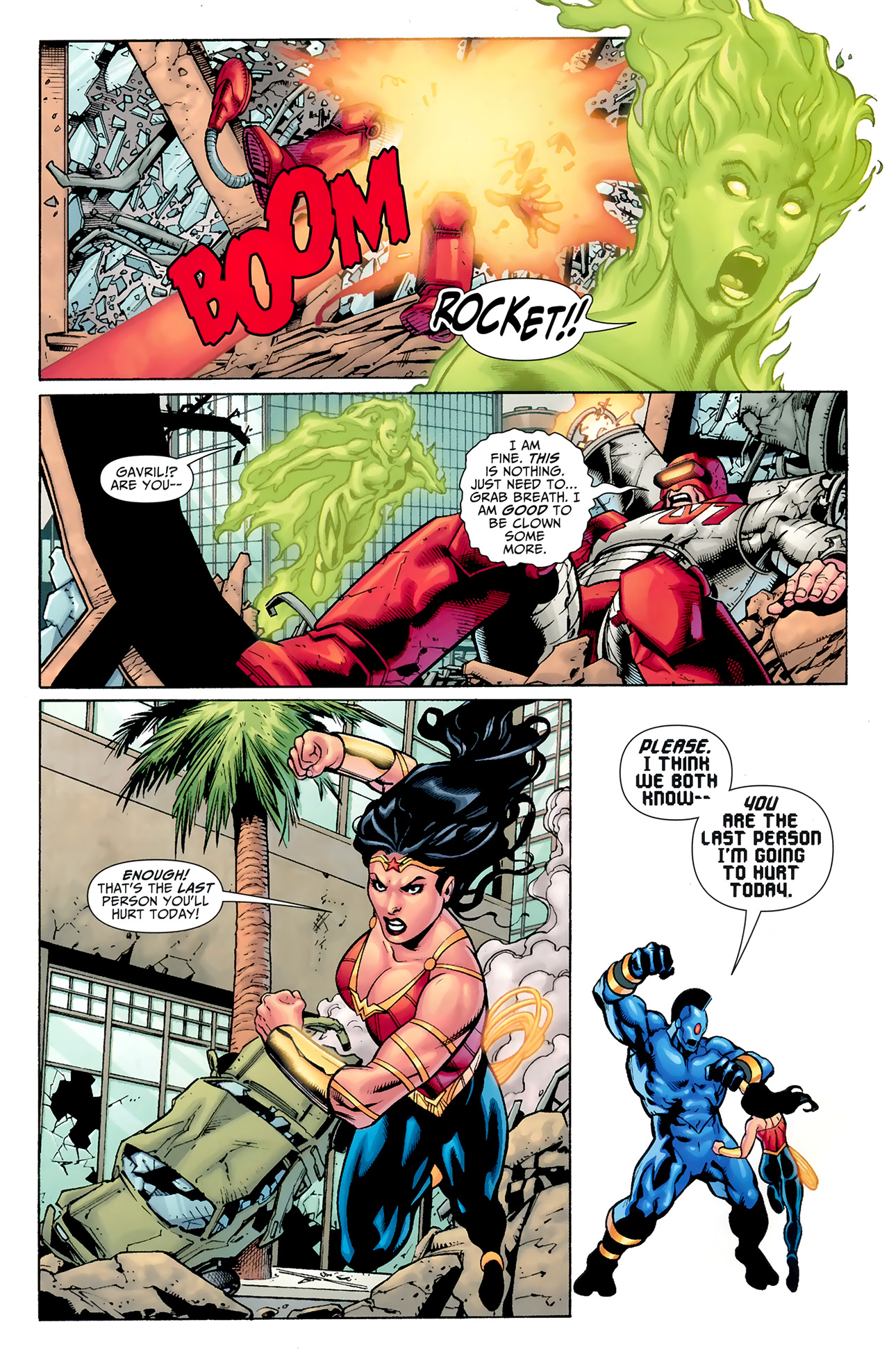 Read online Justice League: Generation Lost comic -  Issue #24 - 12