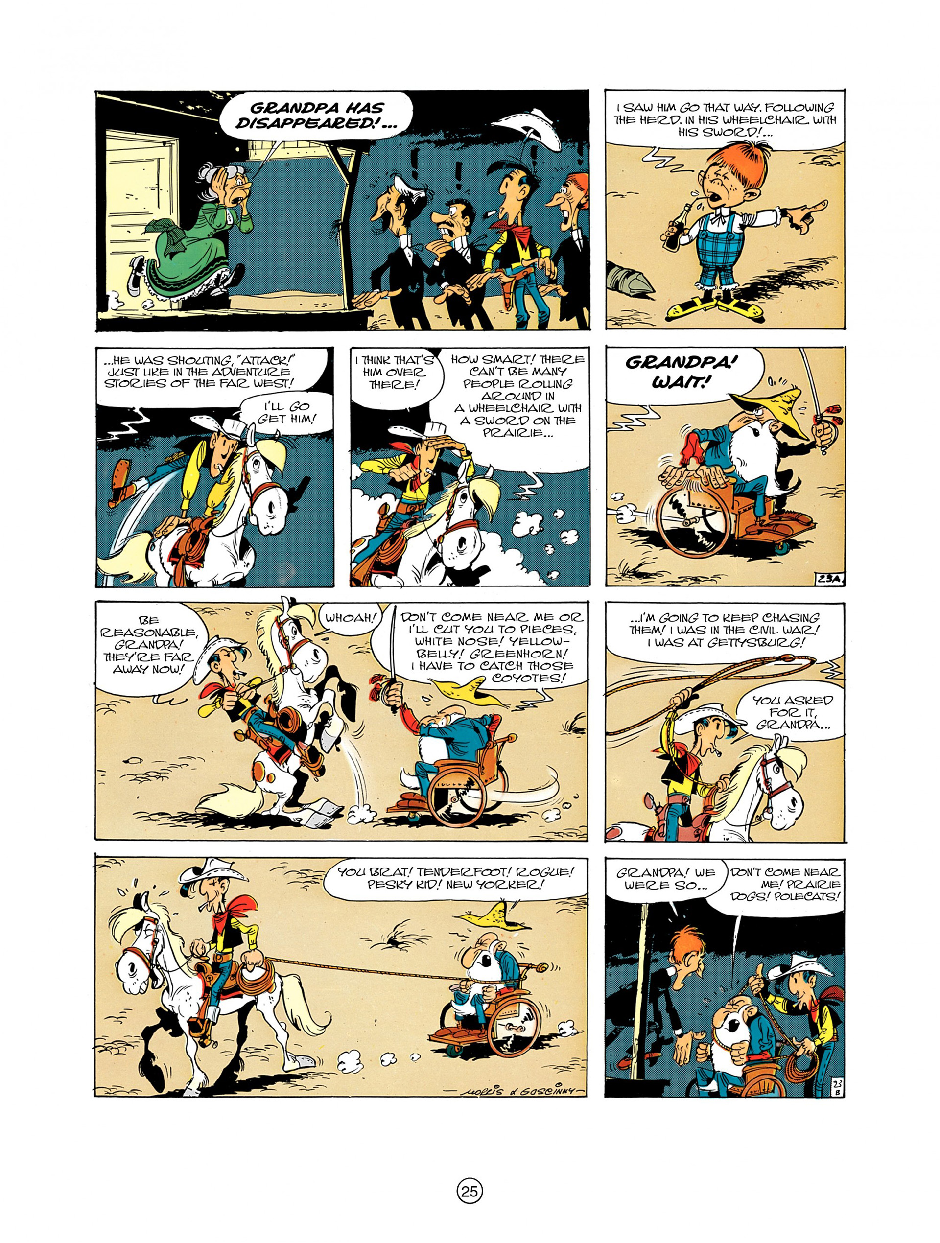 A Lucky Luke Adventure 7 Page 24