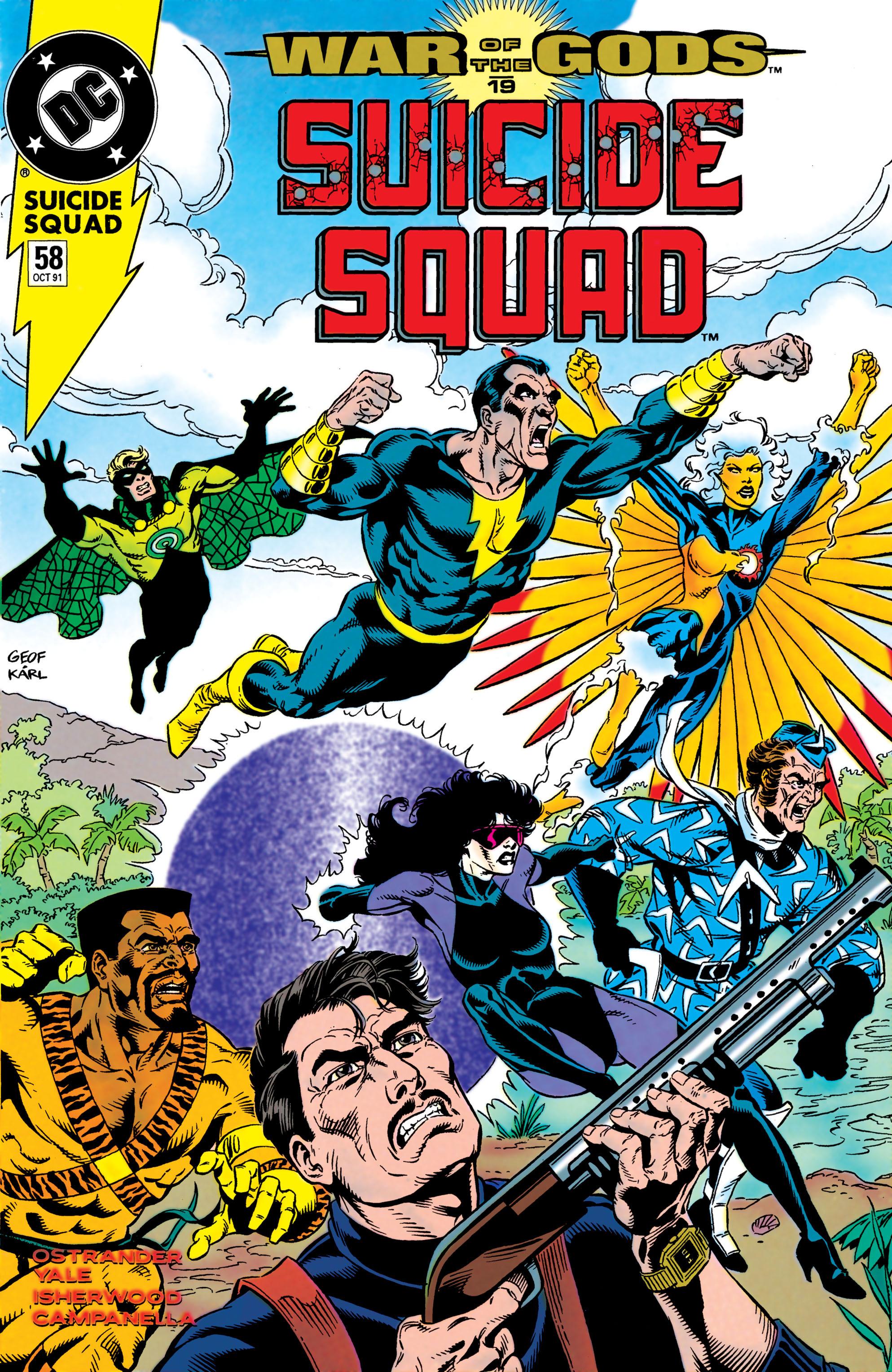 Suicide Squad (1987) 58 Page 1