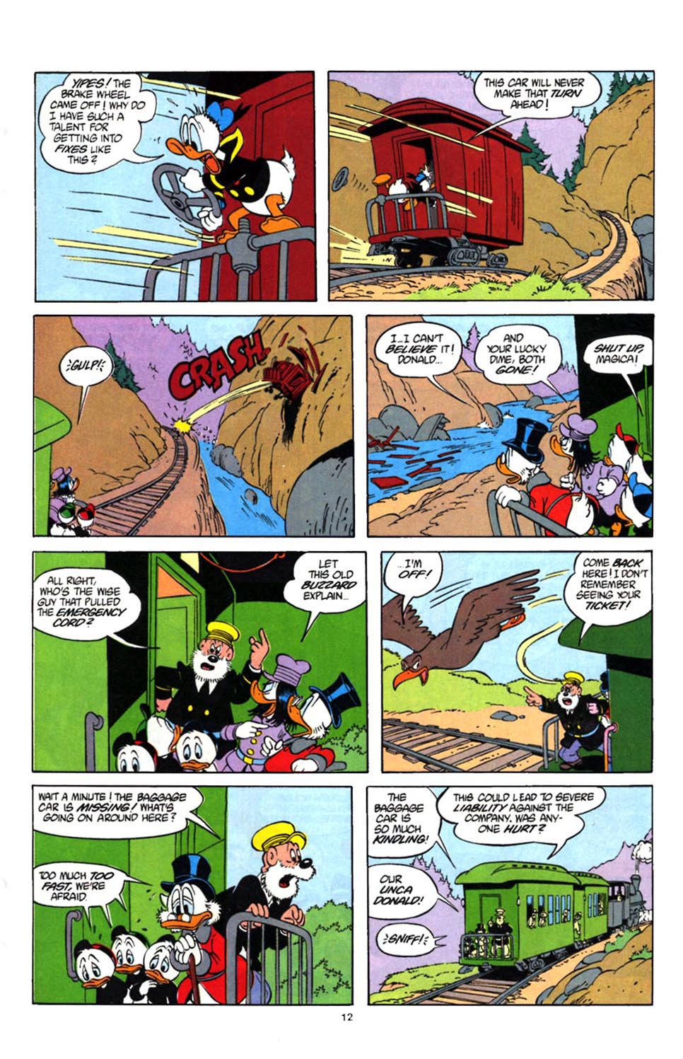 Uncle Scrooge (1953) Issue #247 #247 - English 14
