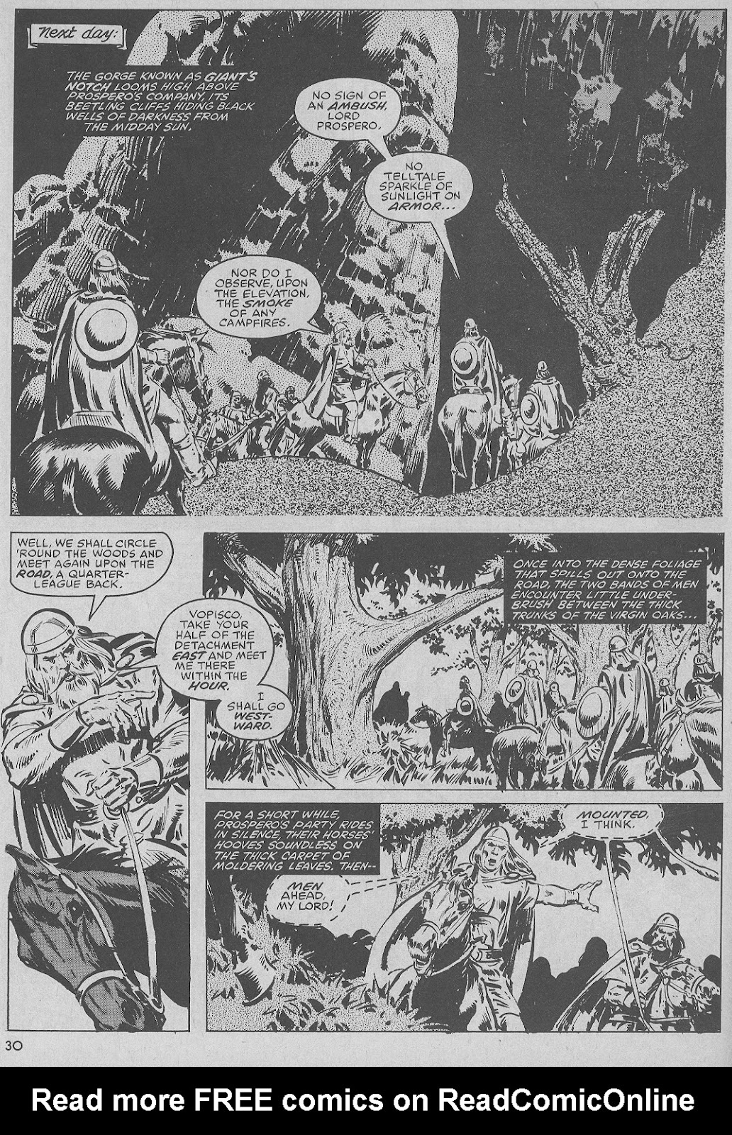 The Savage Sword Of Conan Issue #51 #52 - English 30