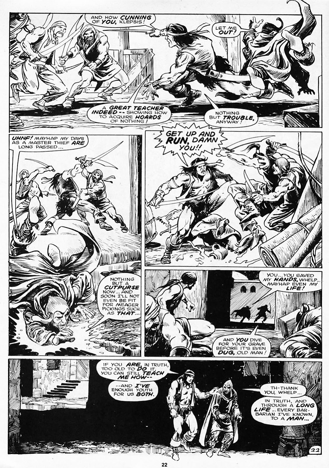 The Savage Sword Of Conan Issue #180 #181 - English 24