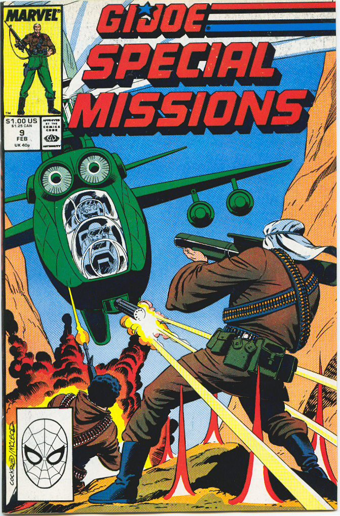 G.I. Joe Special Missions 9 Page 1