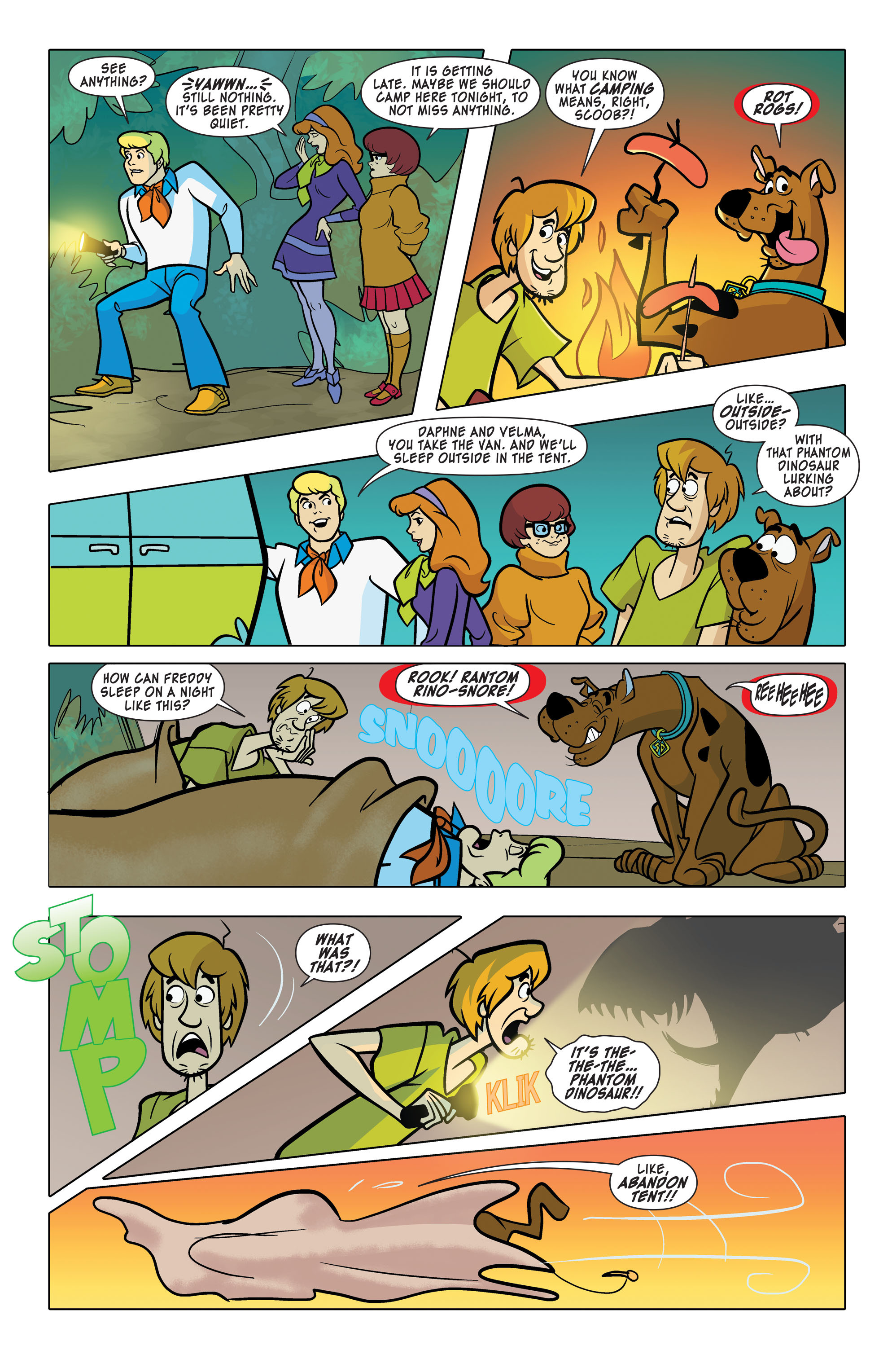Read online Scooby-Doo: Where Are You? comic -  Issue #63 - 4