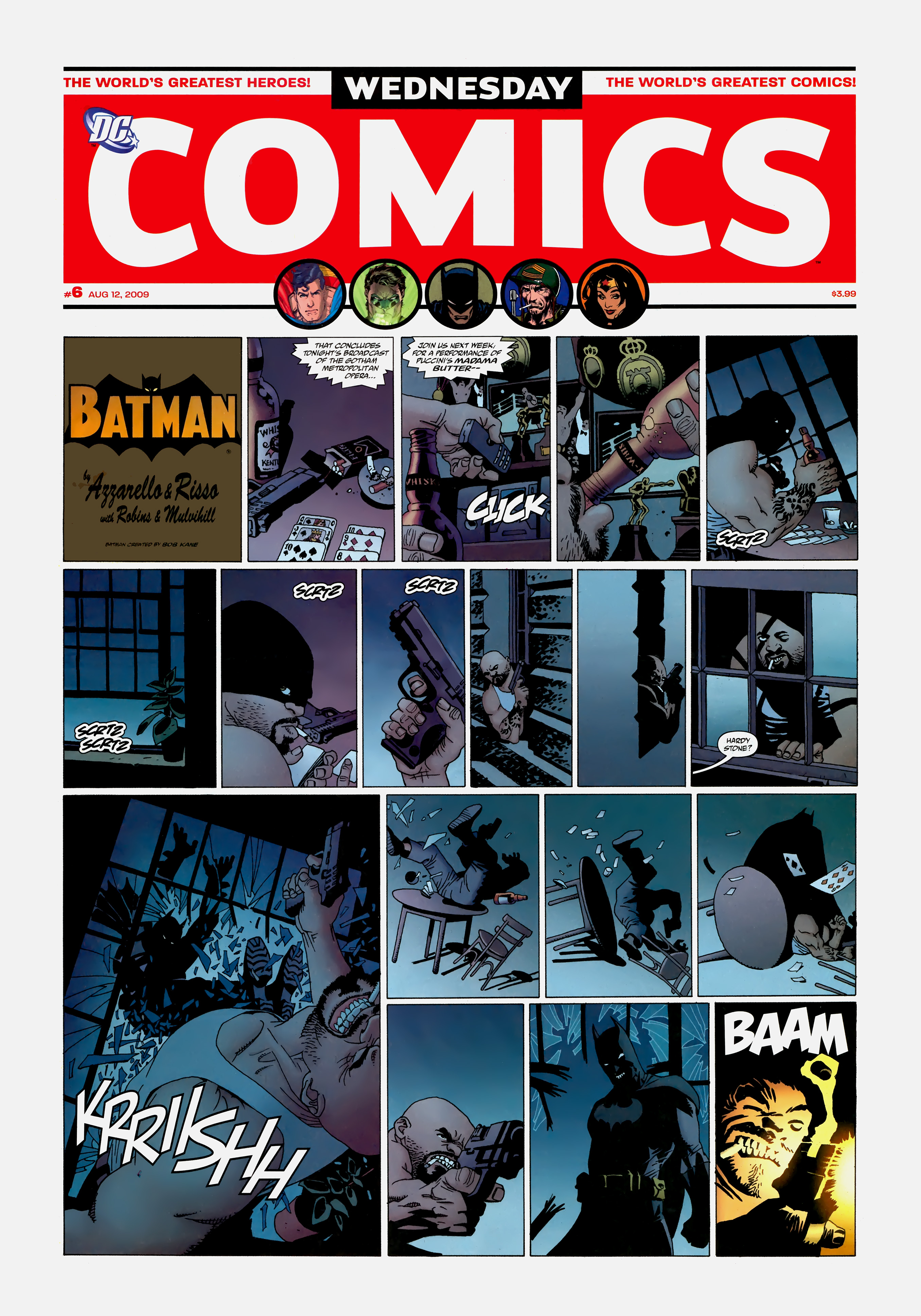 Read online Wednesday Comics comic -  Issue #6 - 2