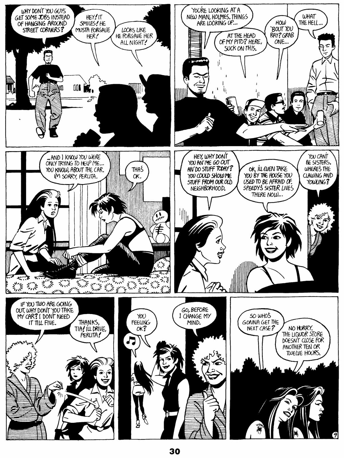 Love and Rockets (1982) Issue #21 #20 - English 32