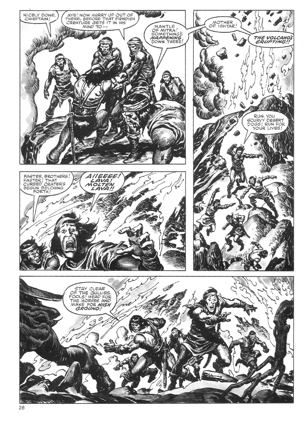 The Savage Sword Of Conan Issue #87 #88 - English 28