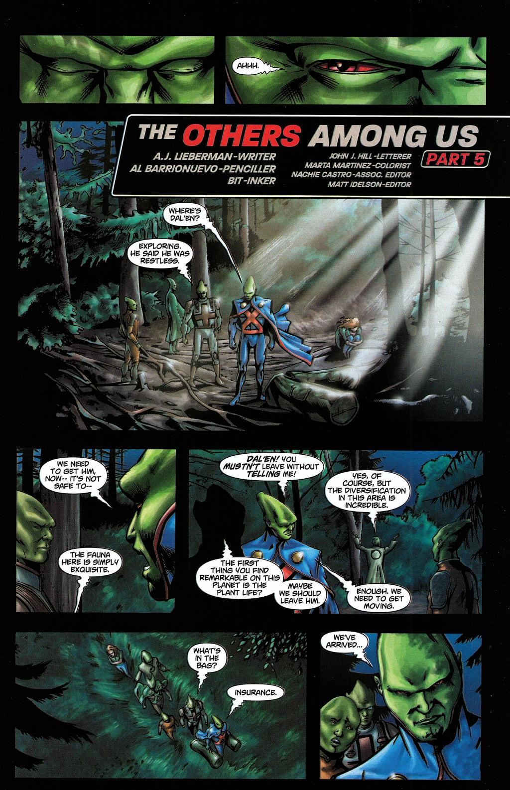Read online Martian Manhunter (2006) comic -  Issue #5 - 5