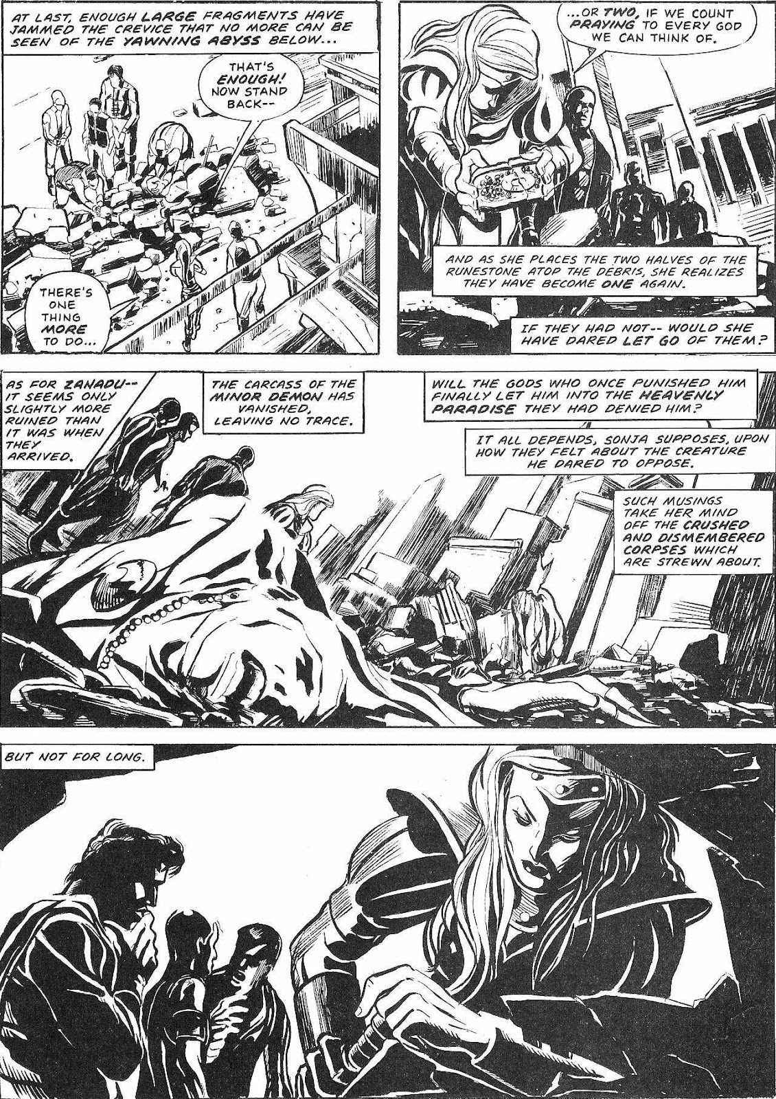 The Savage Sword Of Conan Issue #210 #211 - English 60