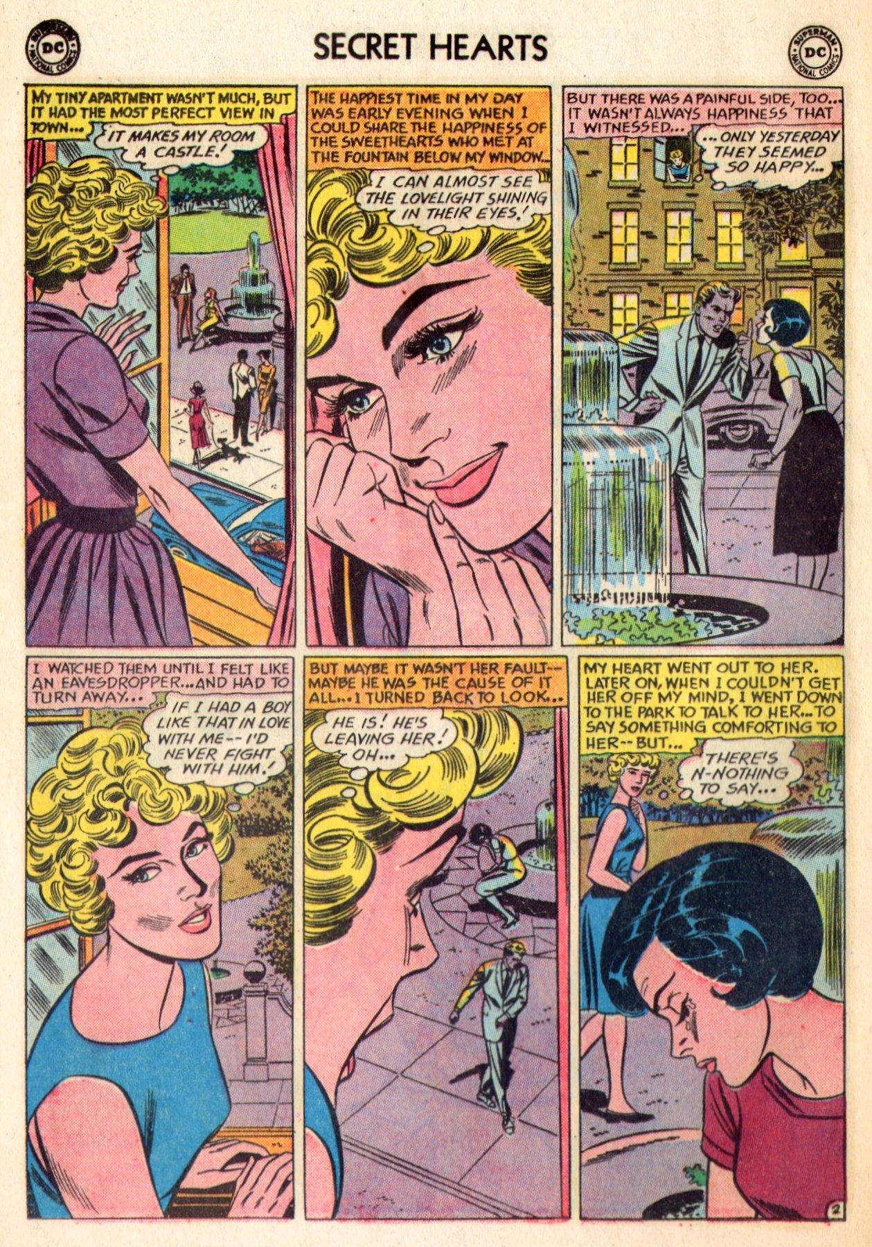 Read online Secret Hearts comic -  Issue #84 - 28