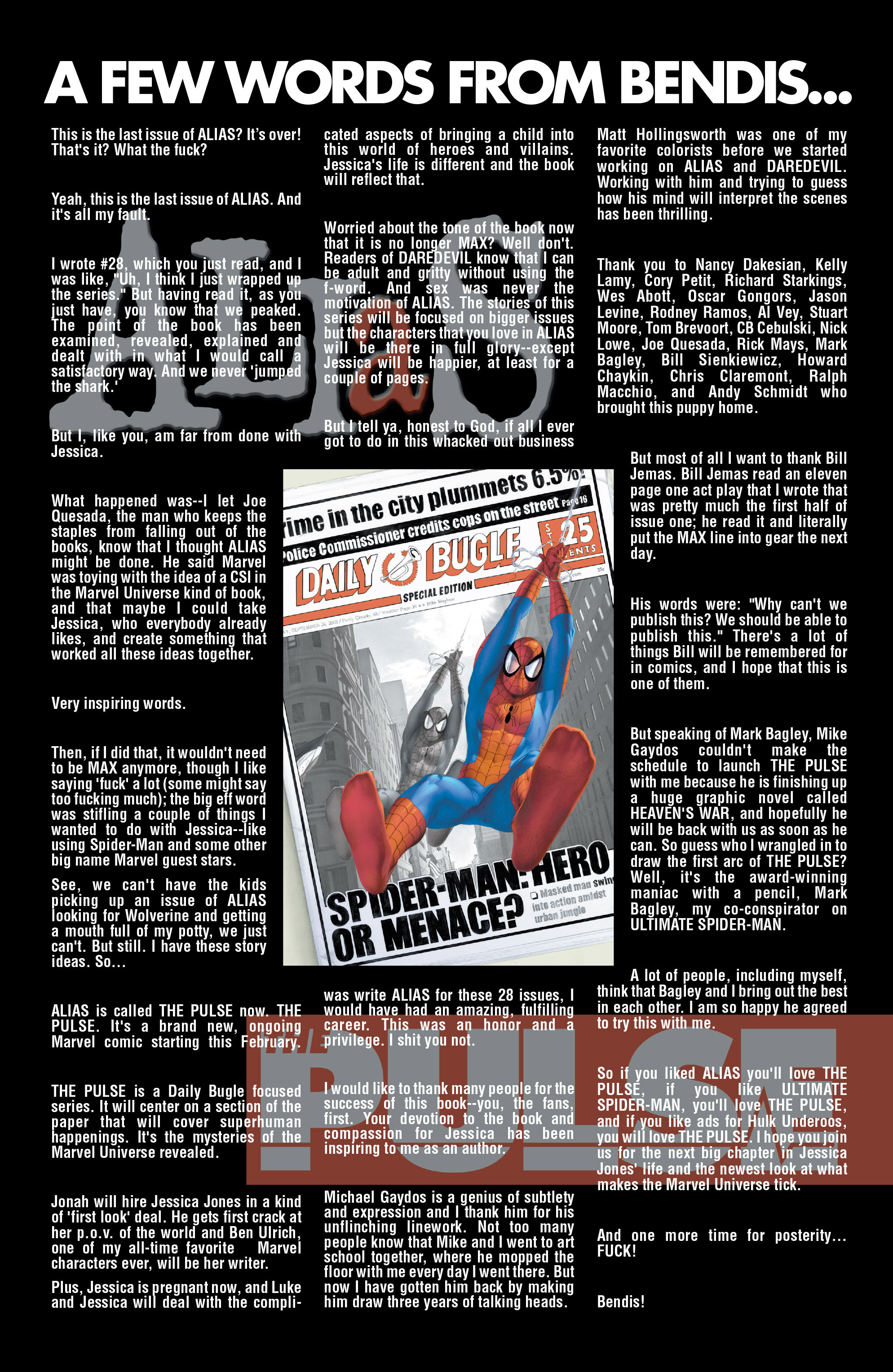 Alias #28 #34 - English 22