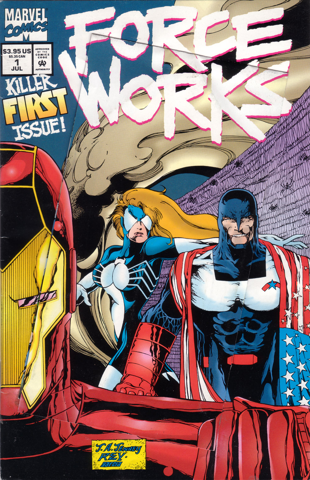 Force Works Issue #1 #1 - English 1