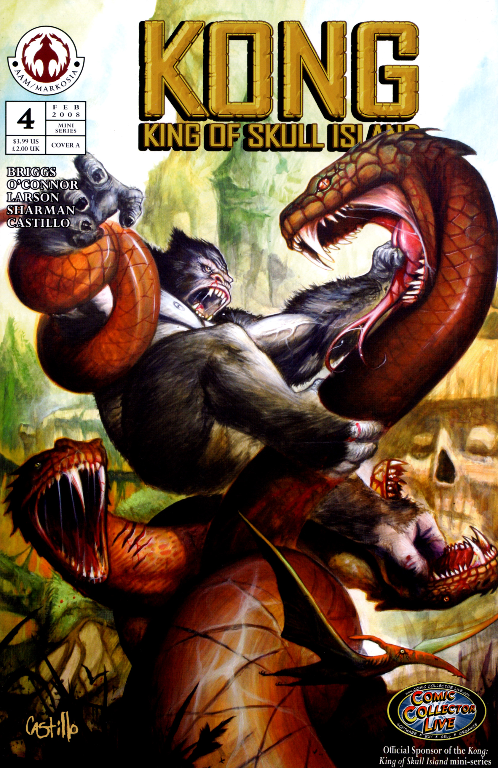 Read online Kong: King Of Skull Island comic -  Issue #4 - 1