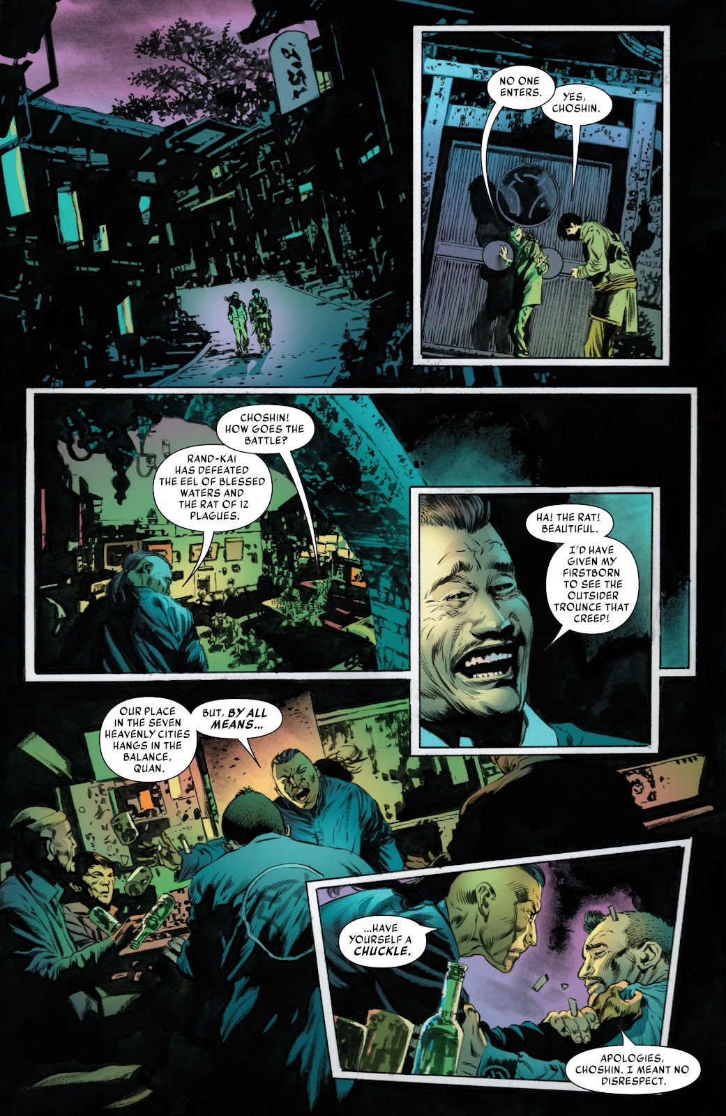 Iron Fist (2017) Issue #3 #3 - English 13